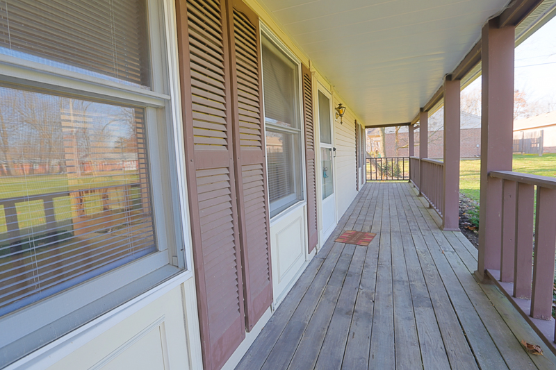 Full-Length Porch